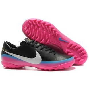 100% authentic 3682c bafee Nike Mercurial Vapor VIII CR7 Nike Soccer Shoes in Pink Black Blue