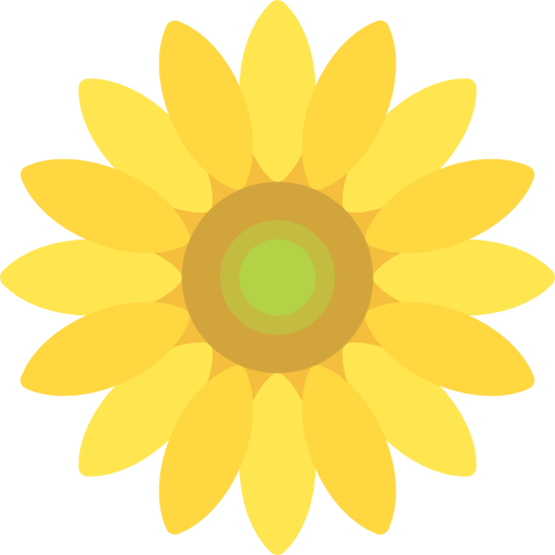 Sunflower Free Vector Icons Designed By Freepik Flower Icons Vector Icon Design Vector Free