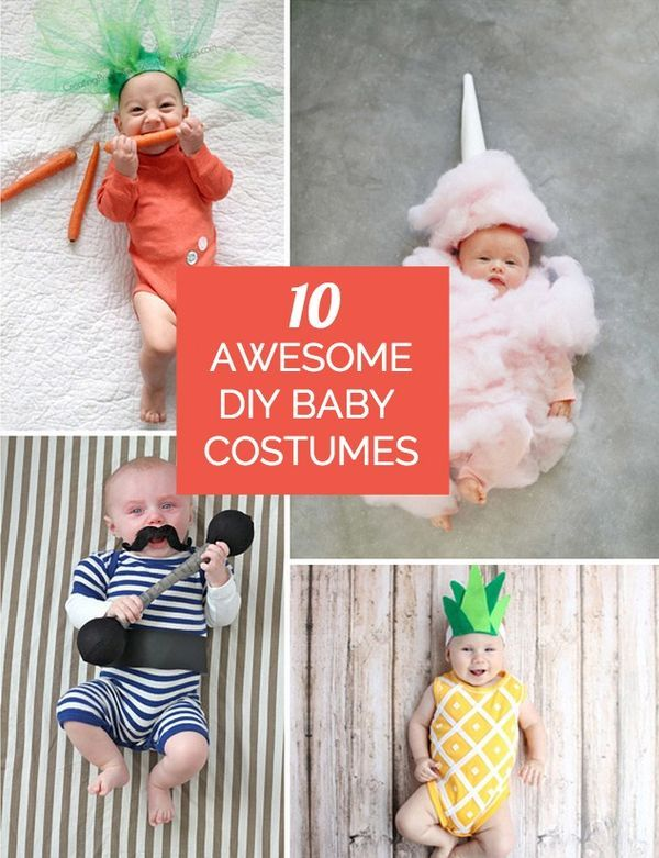 Awesome And Adorable Handmade DIY Costumes For Babyu0027s First Halloween!