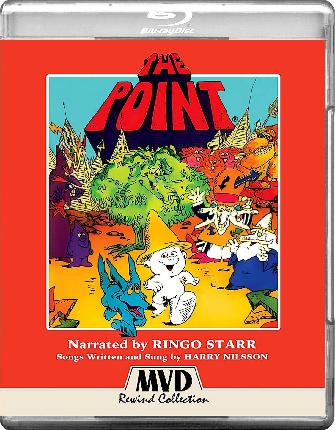 THE POINT BLURAY (MVD REWIND COLLECTION) Harry nilsson