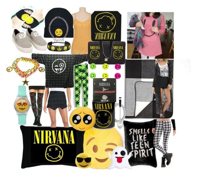 """""""emoji overkill"""" by lerp ❤ liked on Polyvore featuring beauty, ADAM, maurices, Liva Girl, Lodis, Cuisinart, Park B. Smith, INC International Concepts, Monsoon and Design Lab"""