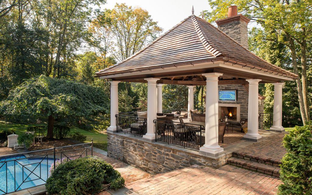 Pool Pavilion Archer & Buchanan Architecture, LTD