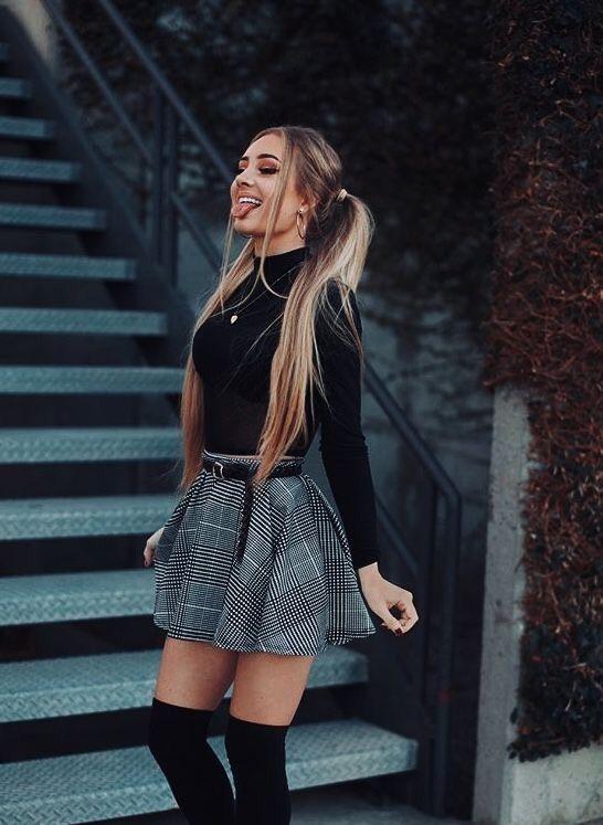 39 Looks con Minifaldas de Moda para que luzcas super Guapa