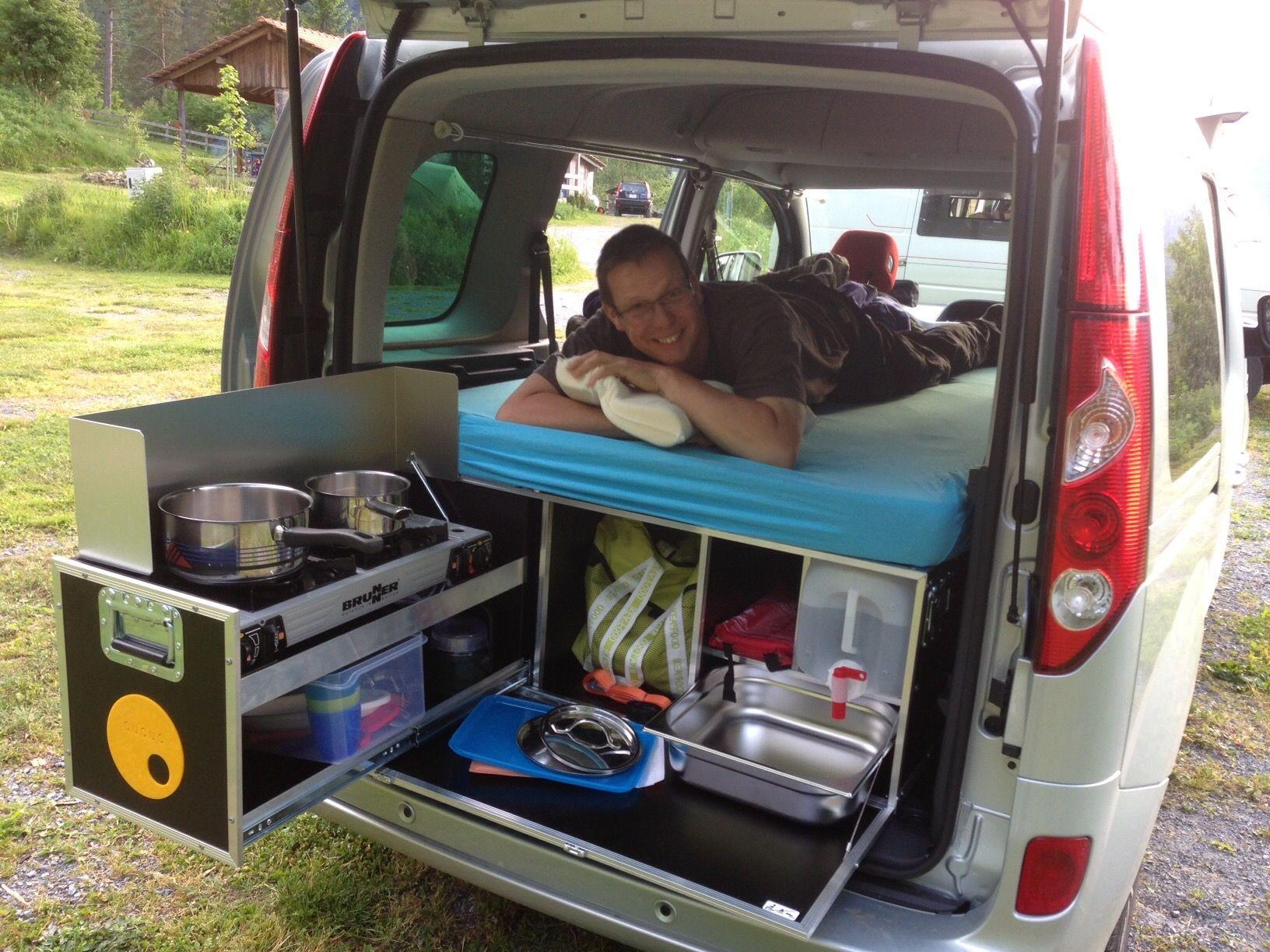 pin by daniel simmen on renault kangoo der mini camper. Black Bedroom Furniture Sets. Home Design Ideas