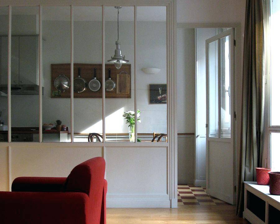 Verriere Interieure Bois Mee Style Atelier Verriere Interieure Bois Leroy Merlin Separation Cuisine Salon Deco Maison Fenetre Interieure