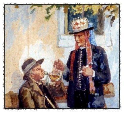 Malerei Naive Malerei Aus Rumanien Petru Mihuț Rumanien Romania