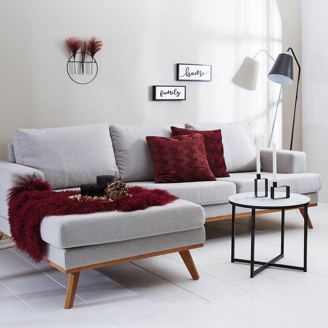 Bordeaux Is Back: Tauche Dein Wohnzimmer Fix In Ein