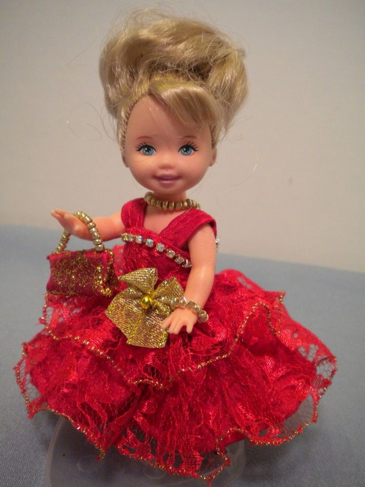 """ALL DOLLED UP"" FOR KELLY DOll ..... (4 1/2"") BY PAULA"