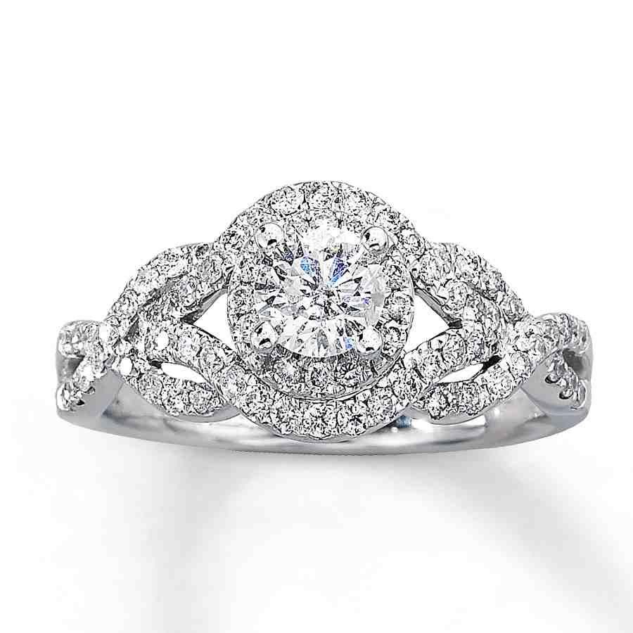1 Carat Diamond Engagement Rings Under 1000
