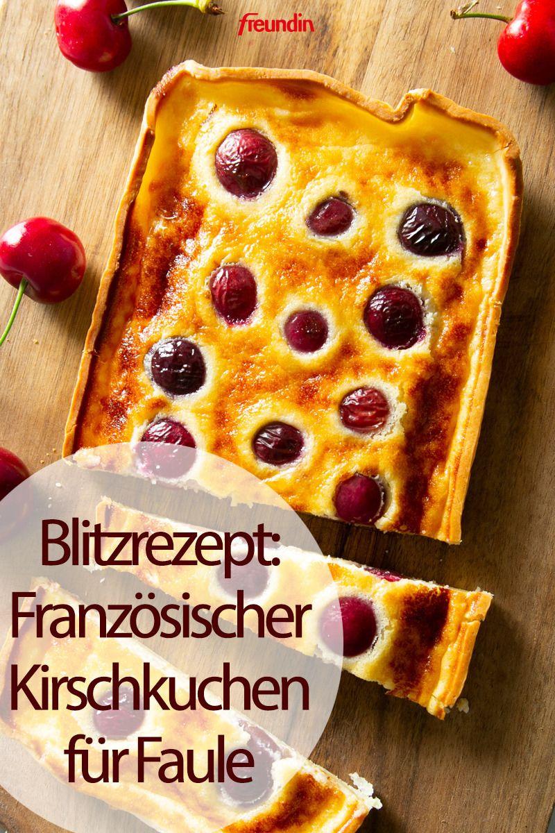 Photo of Blitzrezept: Französischer Kirschkuchen für Faule | freundin.de