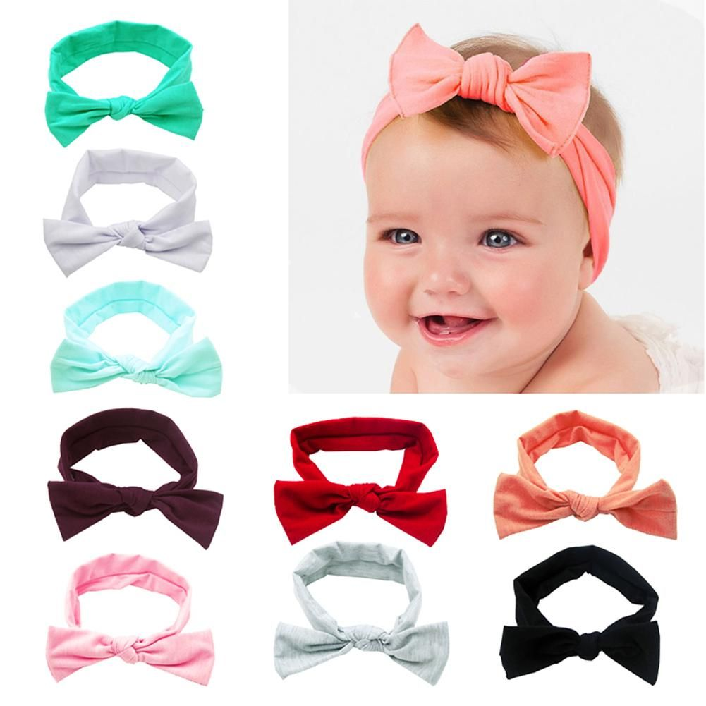 Big Bow Baby Kid Hair Clips Chindren Polyester Ribbon Bownot Headwear For Baby z