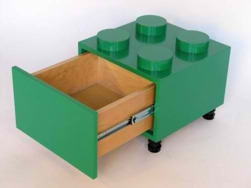 Lego end table projects pinterest dise o muebles for Muebles lego