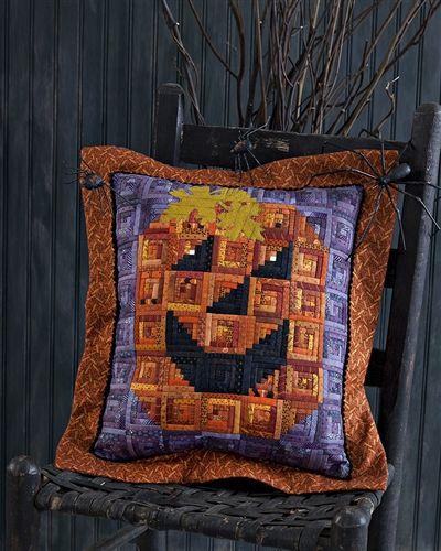 Kết quả hình ảnh cho Ghastly Halloween Pillows quilting