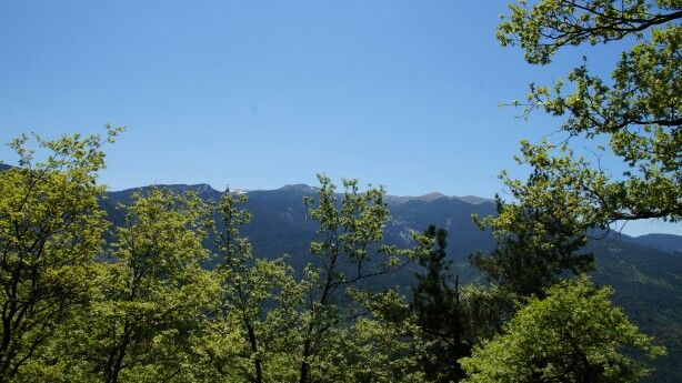 View on Kaz Dağları