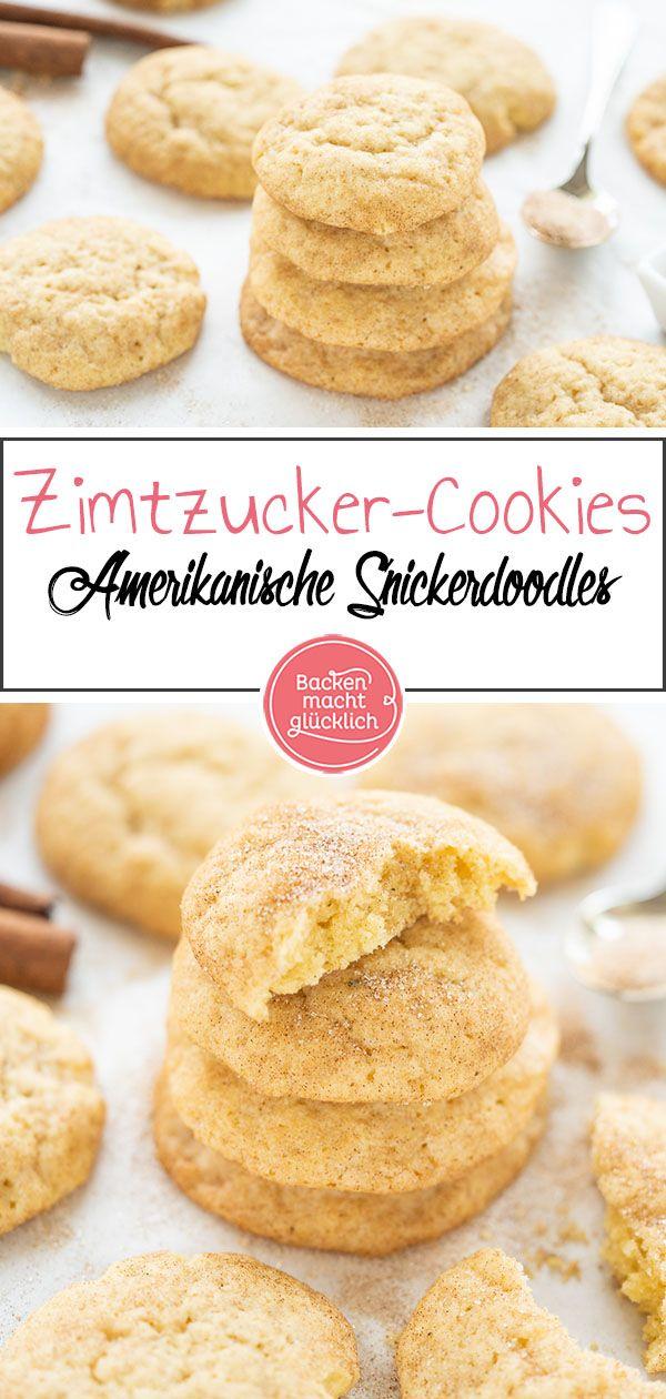 Schnelles Snickerdoodles Rezept | Backen macht glücklich