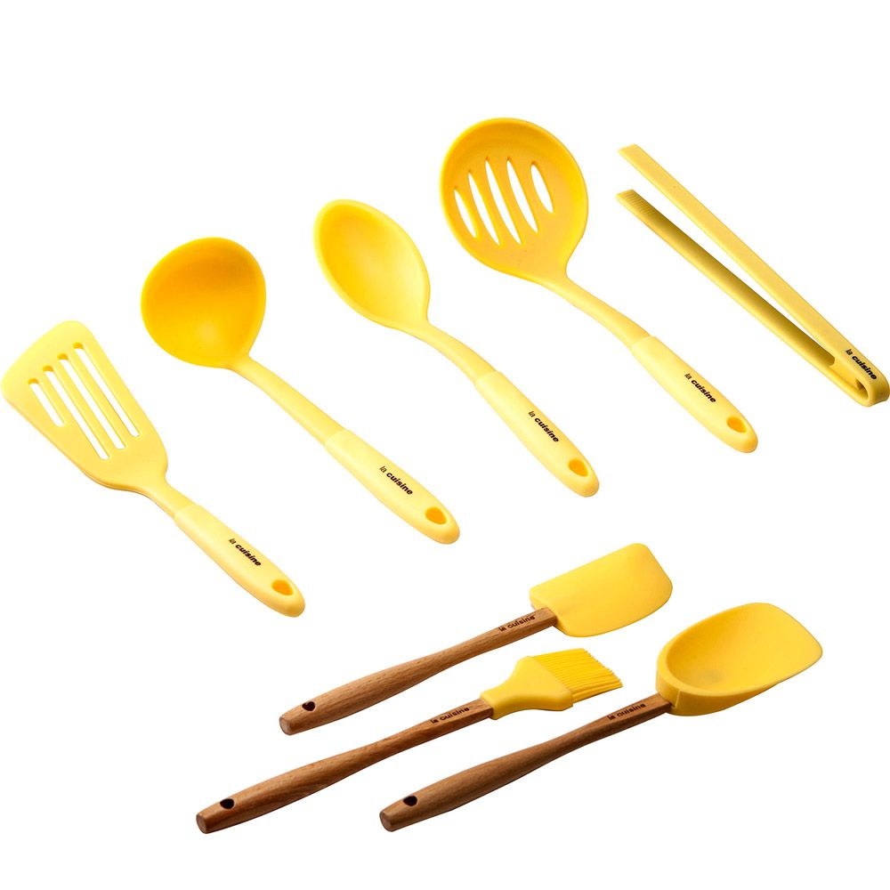 4595910043 kit de utensilios amarelo - Pesquisa Google