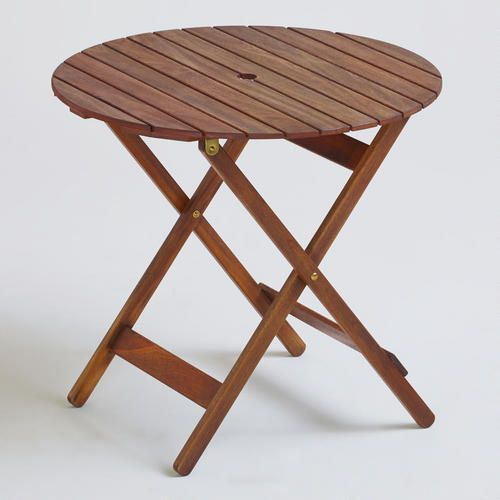 At Worldmarket Natural Wood Folding Table And Matching Chairs Might Fit In The Storage Hold On Our Rv