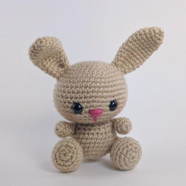 Bryce the Bunny amigurumi pattern by Theresas Crochet Shop | Cosas ...