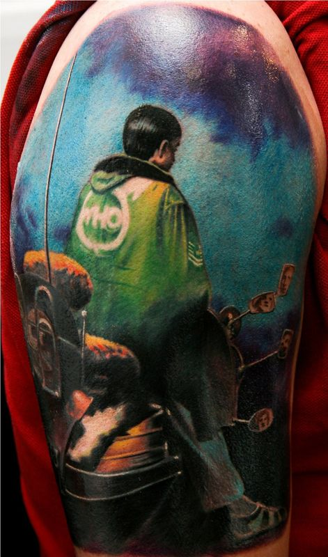 The Who Album Cover Tattoo By Remistattoo On Deviantart The Who Album Covers Album Covers Cover Tattoo