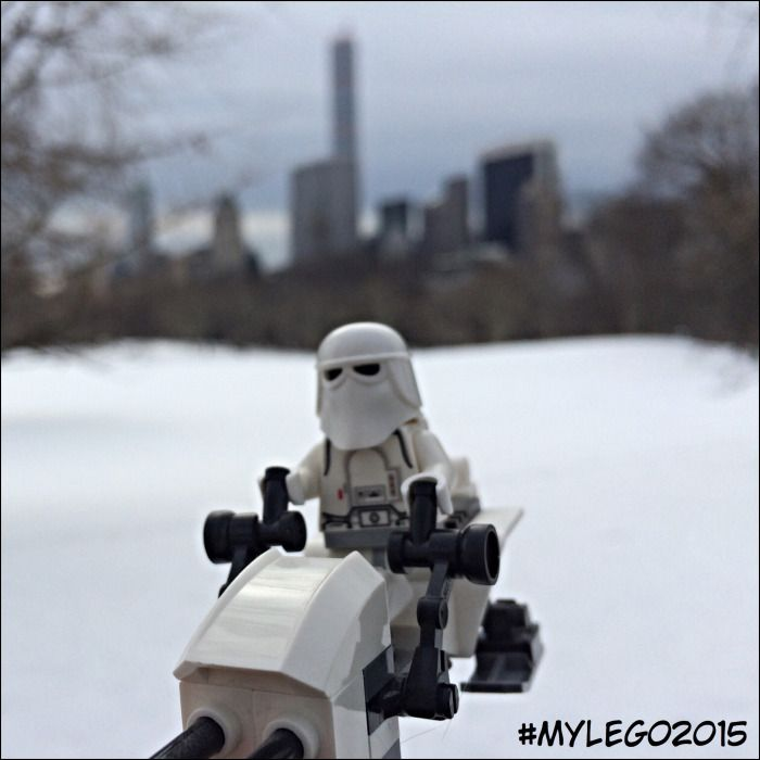 Mars - Snowtrooper @ Central Park, New York