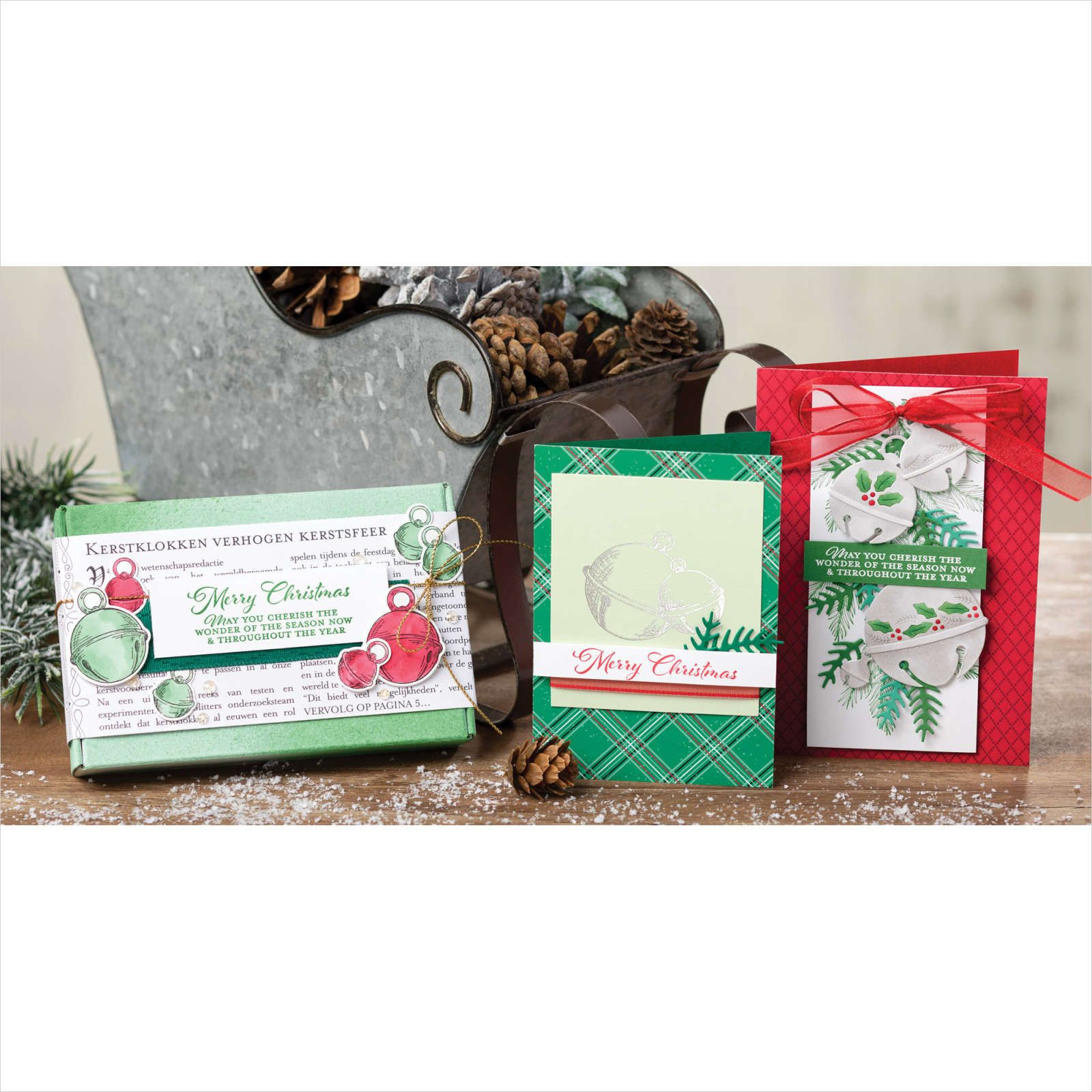 StampinUp! CHERISH THE SEASON CLING STAMP SET in 2020