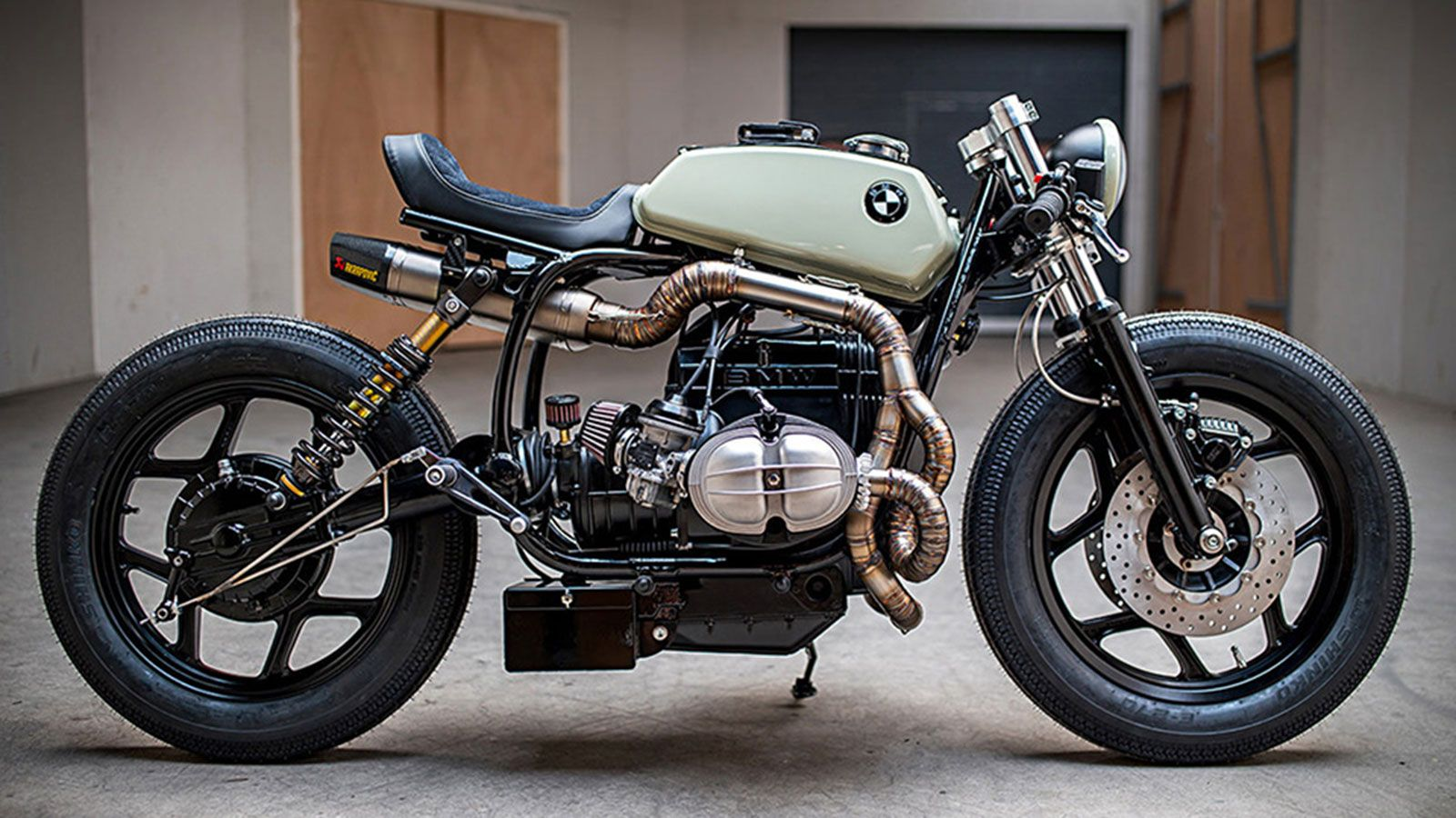 Customized Bmw R80 By Ironwood Custom Motorcycles With Images