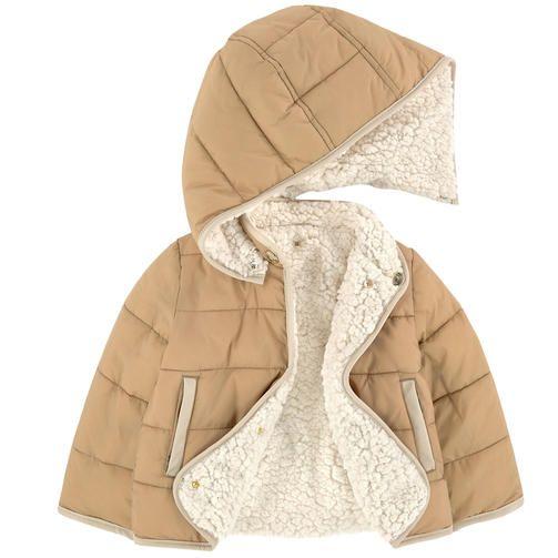 559325ae7d Chloé - Reversible false fur coat - 196369 | 童装 | Jackets, Coat ...