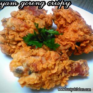 Resep Ayam Goreng Tepung Crispy Renyah Keriting Dan Mudah Haniya Kitchen Resep Ayam Ayam Goreng Resep