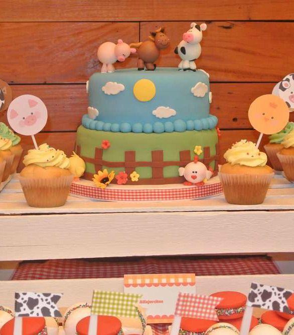 Granja Birthday Party Ideas Farm Birthday Animal Cakes And Birthdays