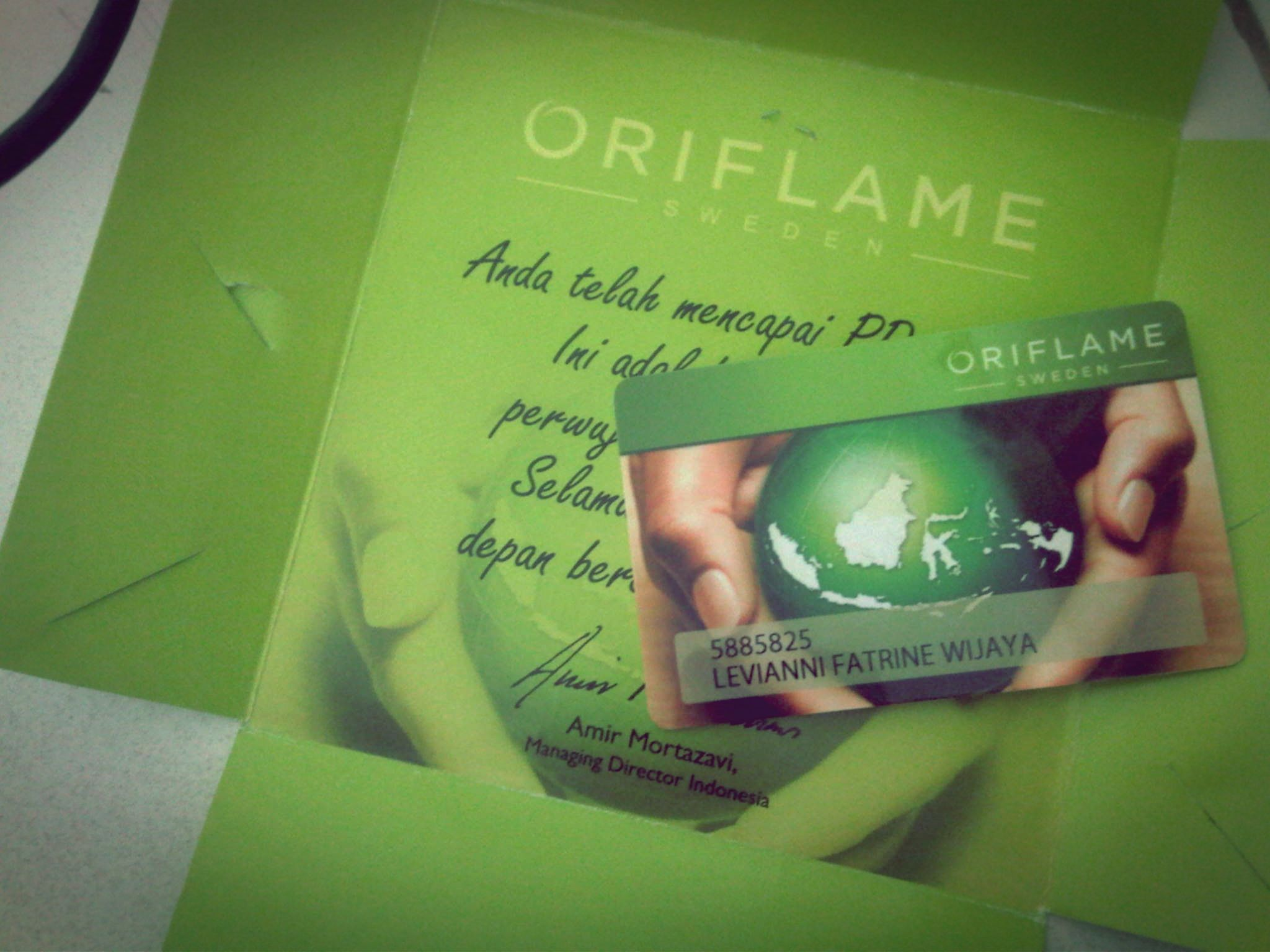 shop best sell great deals my member card from oriflame ^^ | my bussiness-i'm the boss ...
