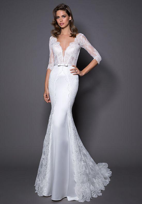 Pnina Tornai for Kleinfeld wedding dress 14564 | http://trib.al ...