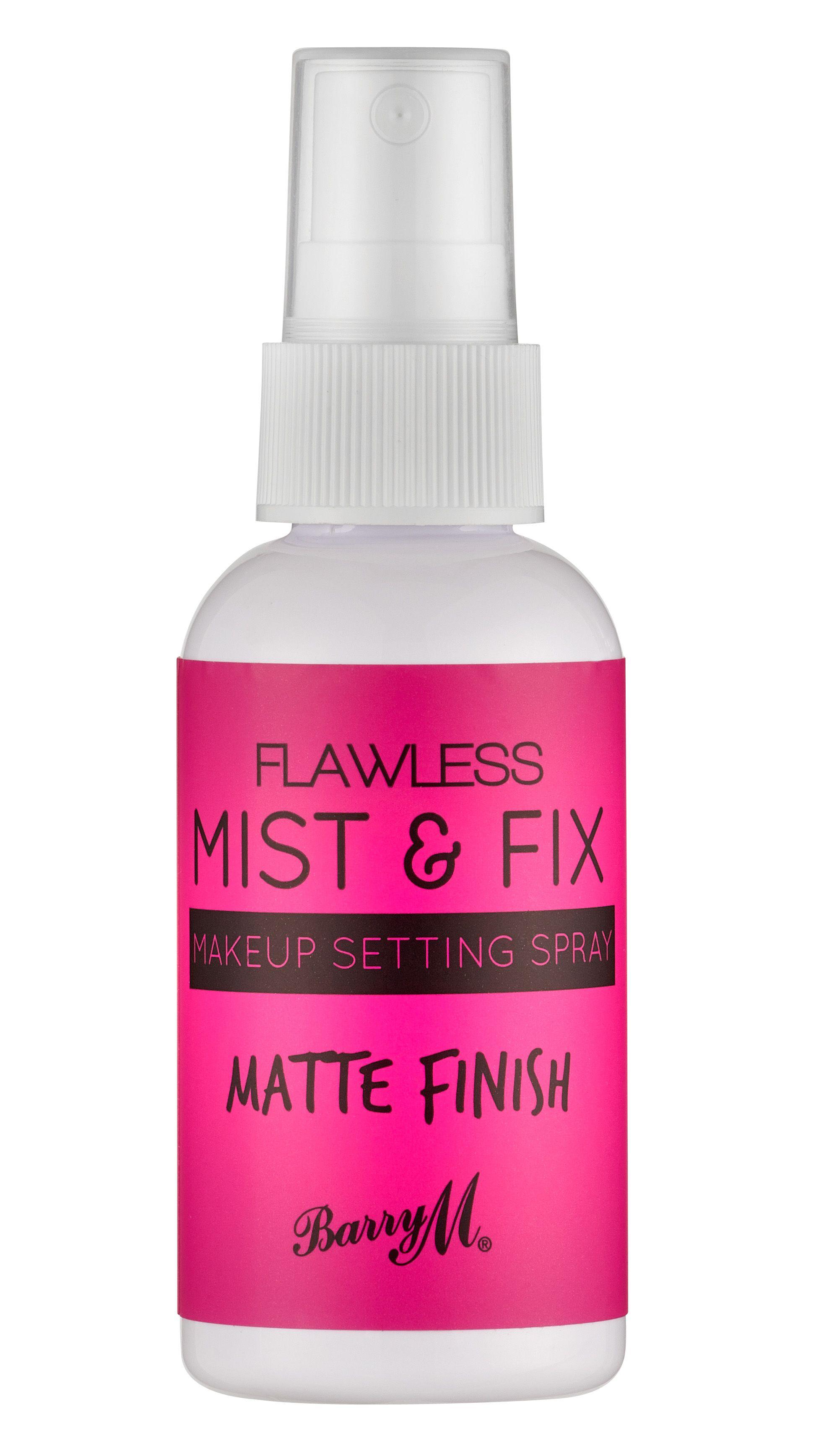 Barry M Flawless Mist & Fix Makeup Setting Spray Matte