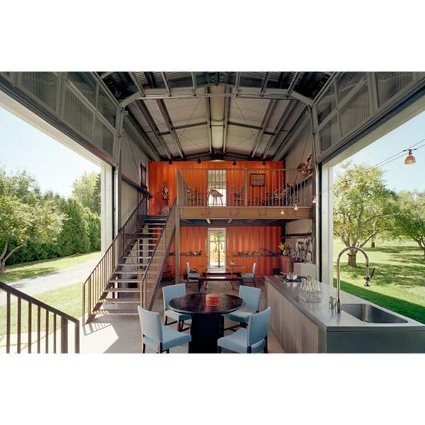 Disenos De Casas En Usa: Nueva Jersey, Estados Unidos Casa Con Contenedores