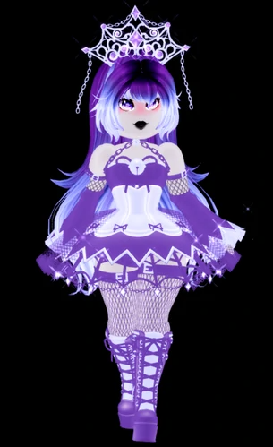Shadow Empress Royale High Wiki Fandom Chibi Anime Kawaii High Tea Outfit My Little Pony Twilight