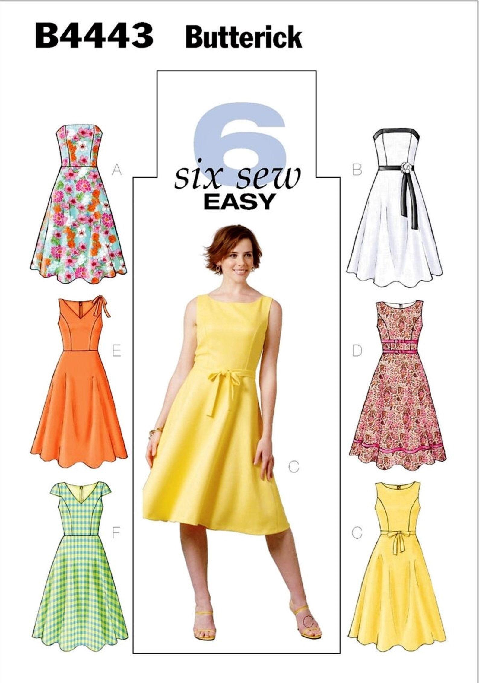 Sewing Pattern Strapless Dress Pattern Sleeveless Dress Etsy Flare Dress Pattern Sundress Pattern Sundress Sewing Patterns [ 2264 x 1588 Pixel ]