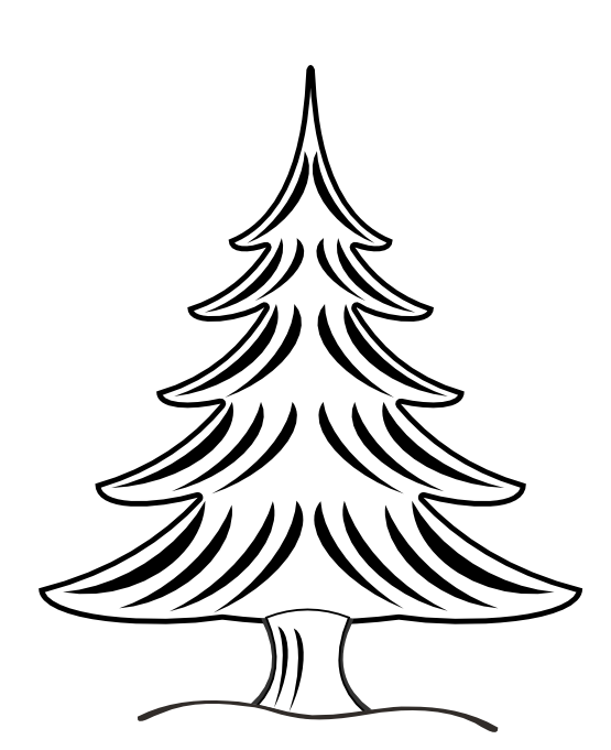 109 Views Christmas Tree Coloring Page Tree Coloring Page Christmas Tree Drawing