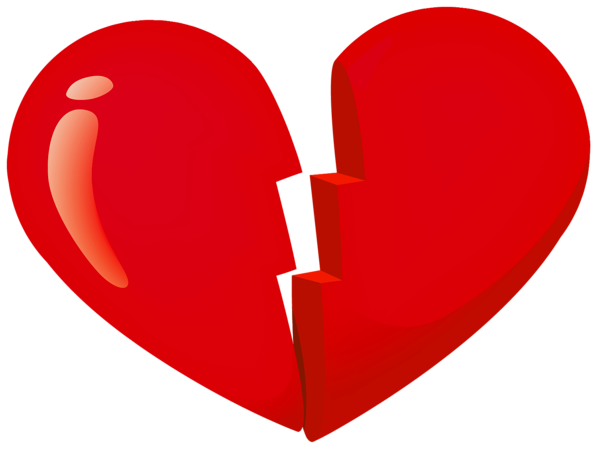 Valentine Red Broken Heart Png Clipart Heart Art Png Valentines Red