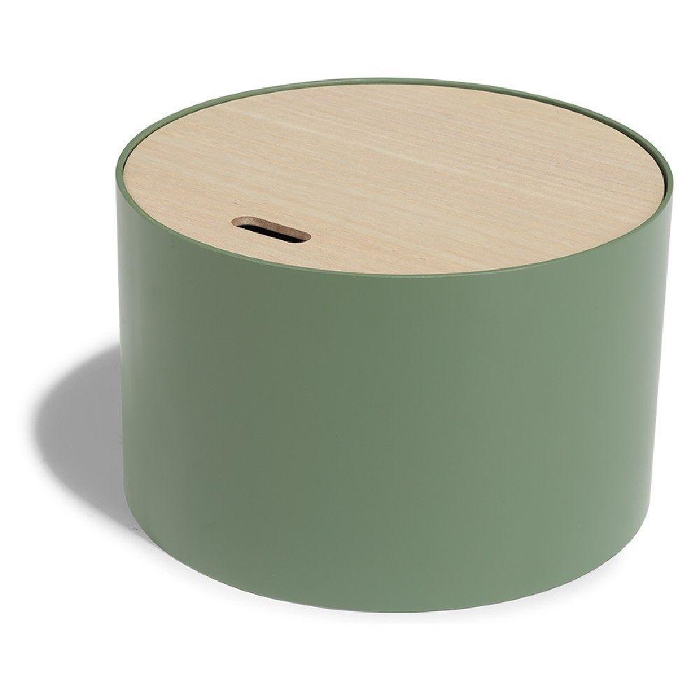 Bout De Canape Coffre Kuub Vert Olive Bout De Canape Applique Murale Bois Meuble Gifi