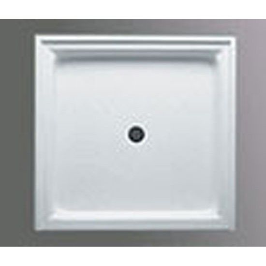 Americh A3434st Wh 3434 Single Threshold Shower Base In White