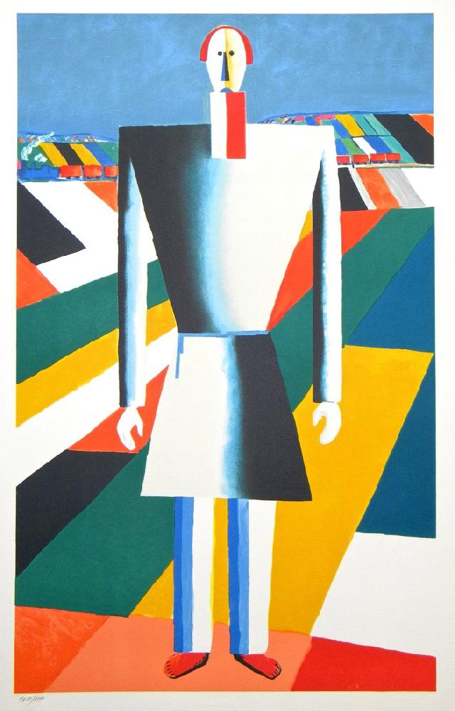 Kazimir Malevich Peasent In The Field Kazimir Malevich Malevich Suprematism