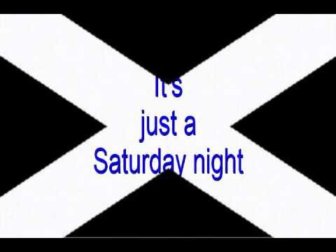 Bay City Rollers Saturday Night W Lyrics Youtube Bay City Rollers Lyrics The Music Man