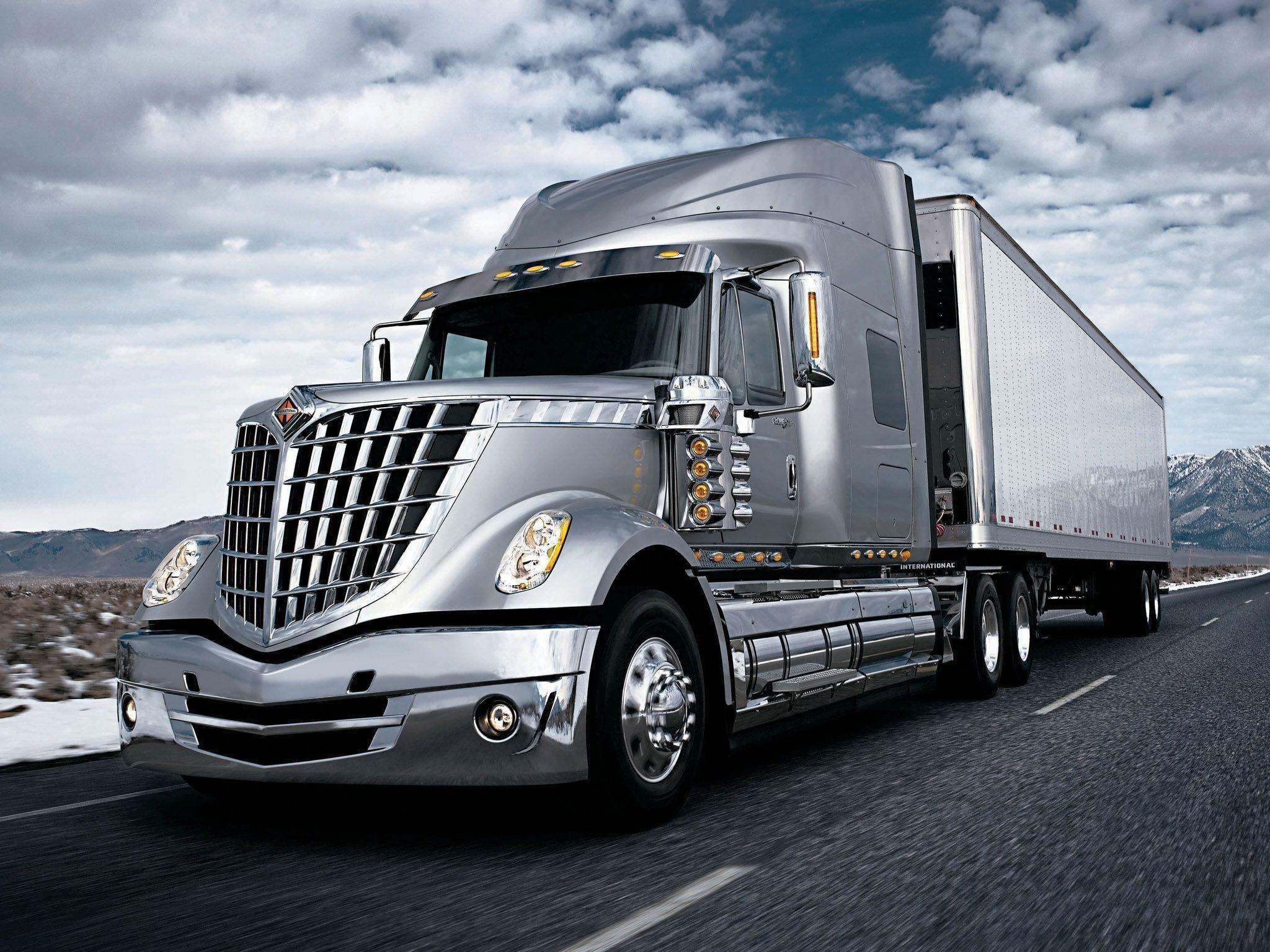 Semi Truck Wallpaper Hd International Truck Big Trucks Trucks