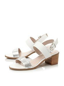 9968999ab53 Finchy leather block heel buckle sandals