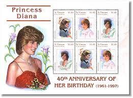 Image result for stamps of princess Caroline
