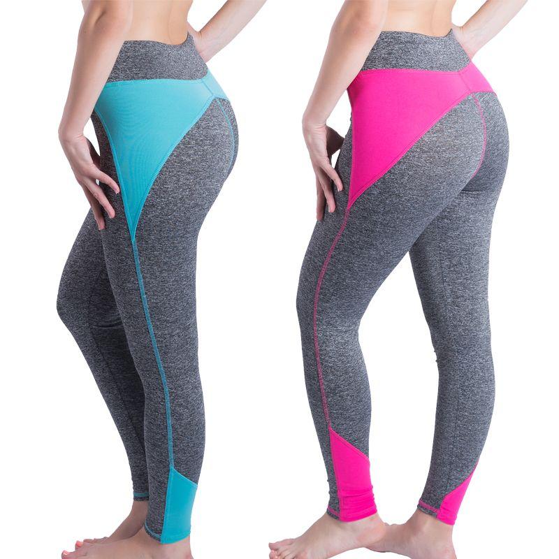 2016 نساء طماق ل تجريب للنشاط اللياقة السراويل يغطي الرجل الإناث عالية الخصر طماق ملابس كمال الاج Running Tights Women Women S Fashion Leggings Running Clothes