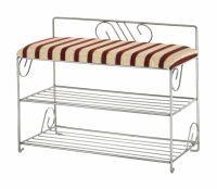 Decoart24 Pl Metaloplastyka Dekoracyjna Sklep Online Siedzisko Do Przedpokoju Z Metalowymi Zdobieniami I Polka Na Buty Folding Chair Furniture Chair