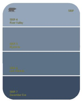 Craft Room Paint Behr December Eve It S A Much Deeper Navy Than This Swatch Would Indicate