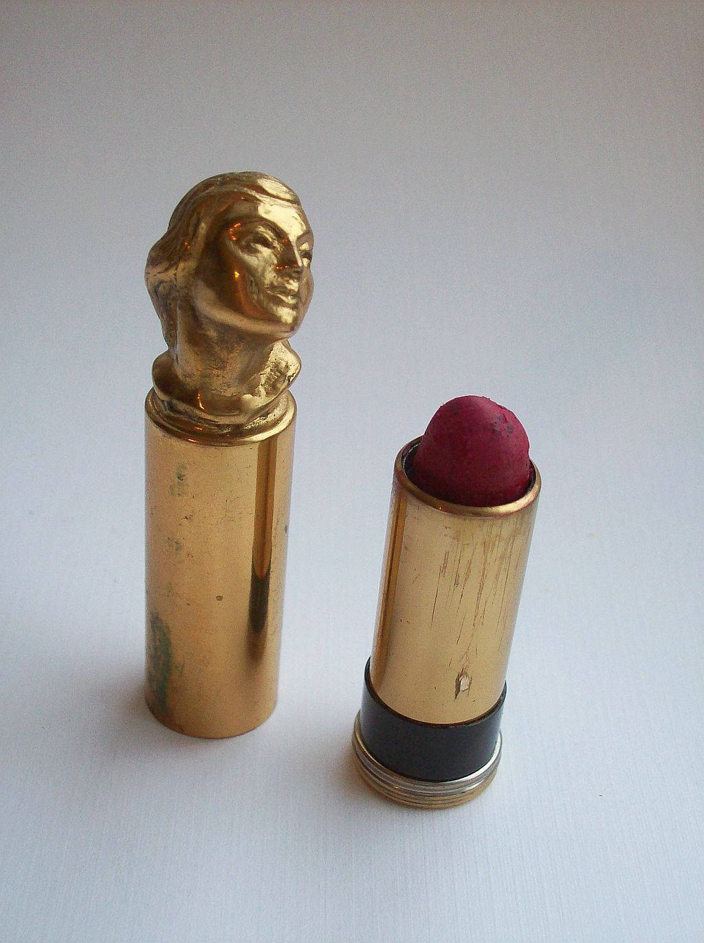 Fancy Lipstick Case Vintage cosmetics, Vintage makeup