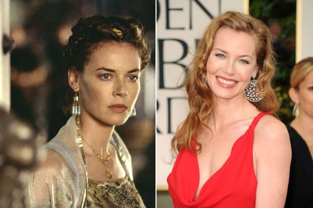 Gladiator cast, then and now - Connie Nielsen - Connie Nielsen, Lucilla