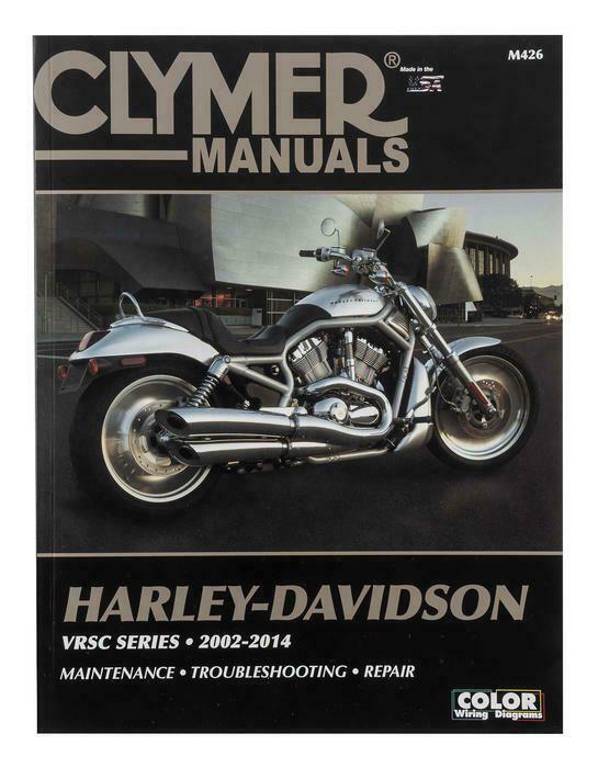 Advertit eBay) Clymer Shop Repair Manual #M426 Harley ... on